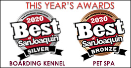 San Joaquin Valley Award Best Dog Kennel
